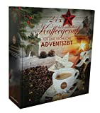 Querfee - Kaffee Adventskalender mit 24 Türchen zum Aufklappen - Kaffee Kalender - Auch als Kaffee Geschenk und Kaffee Probierset zu empfehlen - Kaffee als Geschenk für Erwachsene - Kaffeegeschenk zu Advent und zu Weihnachten 24 mal aromatisierter & ...