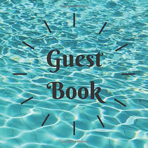 """Guest Book Dot Grid (8.5\""""x8.5\"""" 80 Pages) Suitable for AIR BnB book, Guest Comments Book, Visitors Book, Vacation Home Guest Book, Holiday Home, ... Funeral Ceremony: Classical for any occasion"""