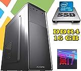 PC DESKTOP AGM Intel i7-9700 / 16GB RAM DDR4 / SSD 480GB - HD 1TB / WI-FI / MASTERIZZATORE / LICENZA...
