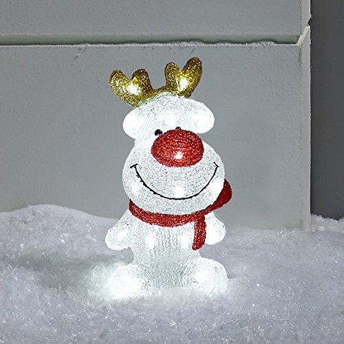 Renna illuminata a LED – decorazione natalizia di Lights4fun