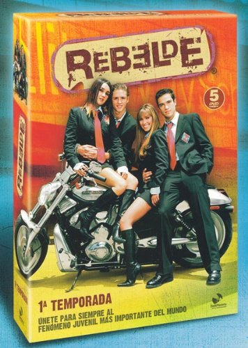 Pack Rebelde (1ª temporada) [DVD]