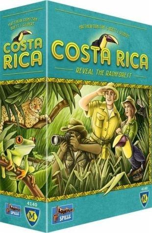 Lookout Games 22160084 - Costa Rica, Familienspiel