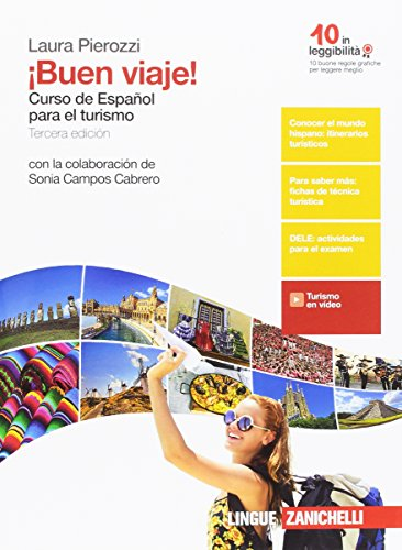 ¡Buen viaje! Curso de español para el turismo. Con e-book. Per gli Ist. tecnici e professionali. Con e-book [Lingua spagnola]