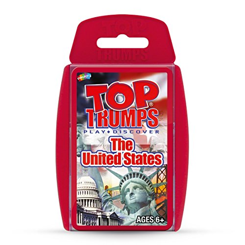 United States Top Trumps Card Game