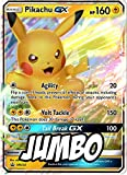 Pikachu GX - Jumbo Card - Promo SM232 - Holo Foil