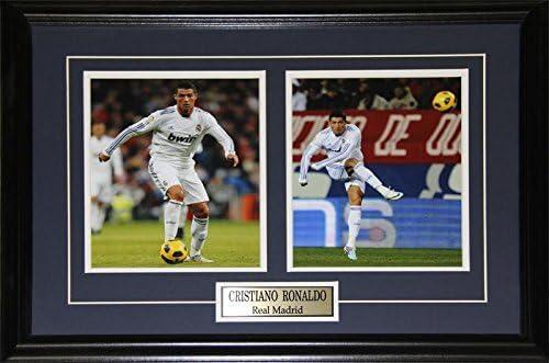 Midway Memorabilia Cristiano Ronaldo Real Madrid La Liga Football Soccer 2 Photo Collector Frame product image