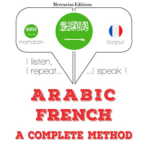 Couverture de Arabic - French. a complete method