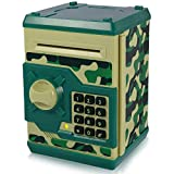 Yoego Kids Money Bank, Electronic Piggy Banks, Great Gift Toy for Kids Children, Auto Scro...