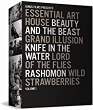 Essential Art House Volume 1 (Beauty and the Beast / Grand Illusion / Knife in the Water / Lord of the Flies / Rashomon / And more)
