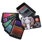 Lápices de colores, lápiz de colores profesional portátil, 108 piezas para dibujo de niños