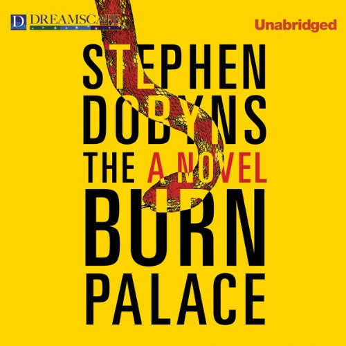 The Burn Palace audiobook cover art