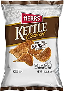Herr's - Russet Kettle Chips, Pack of 12 bags