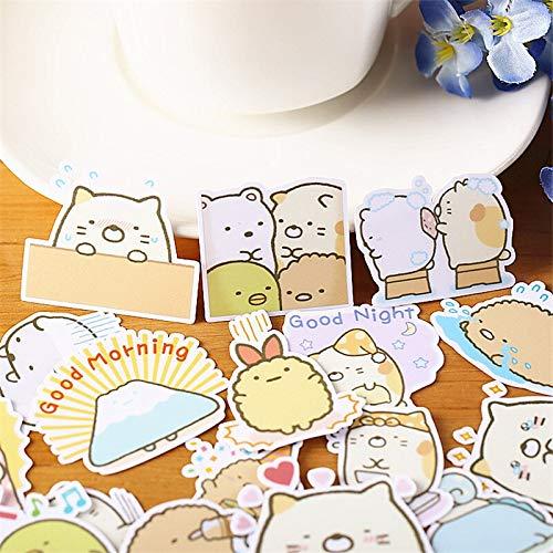 Eine Vielzahl von Herkunft Little Monster Papier Aufkleber Basteln und Scrapbooking Aufkleber Buch dekorative Aufkleber DIY Briefpapier 40 STK