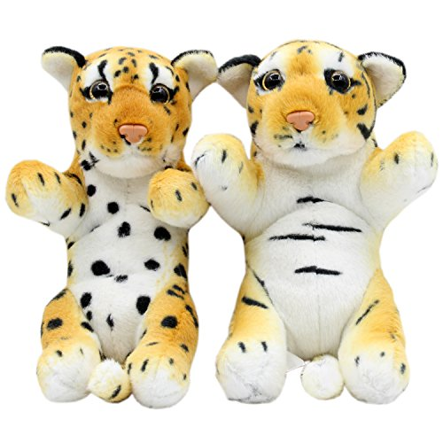 TAGLN Animales de Peluche Tiger Leopardo Guepardo Juguete de Peluche L