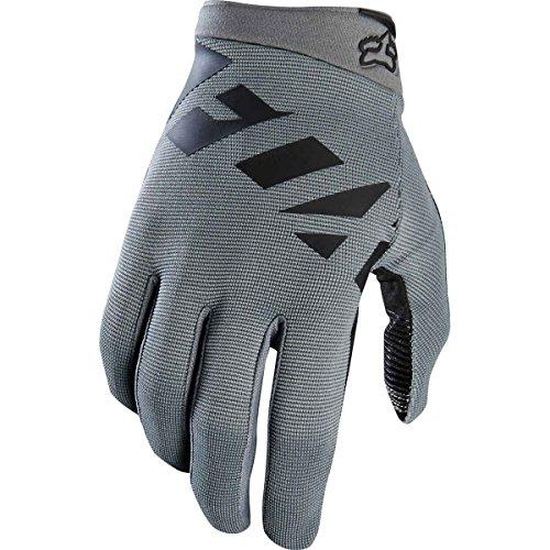 Fox Head Mens Ranger Bike Safety BMX MTB Gloves (Graphite Black, XL)