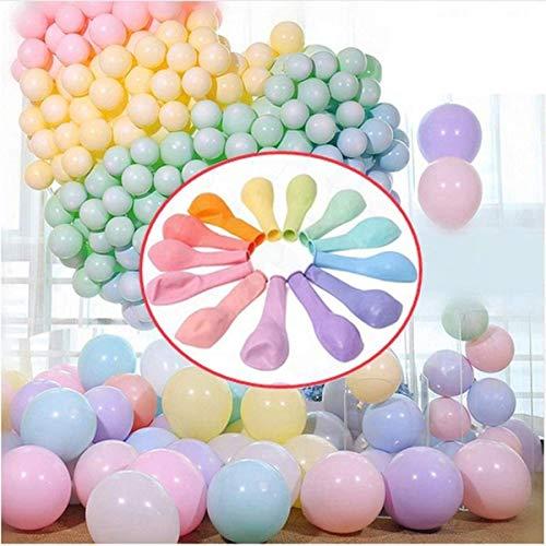 100 Stück Party Luftballons Pastell 10