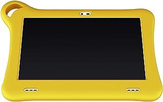 Alcatel 8052 TKEE Smart Tablet For Kids - 7 Inch, 16GB, 1.5GB RAM, WIFI - Yellow