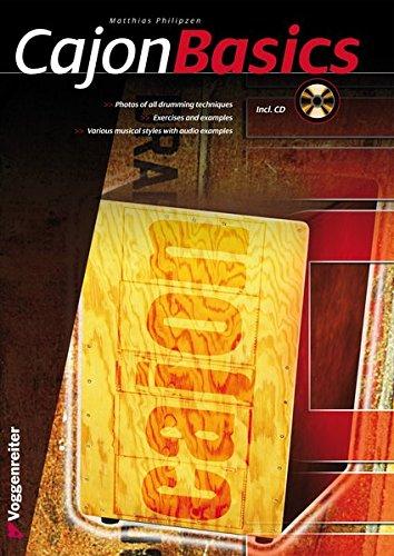 Cajon Basics: Read, hear and play! (Voggenreiter Verlag)