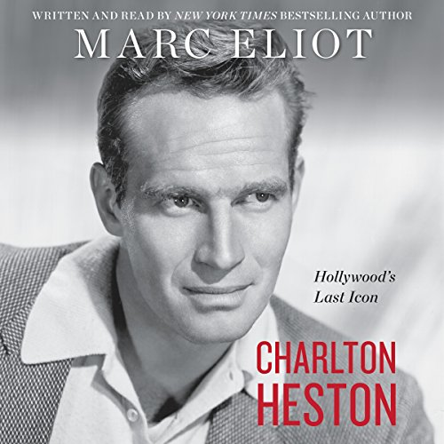 Charlton Heston audiobook cover art