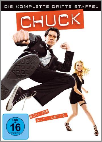 Chuck - Die komplette dritte Staffel [5 DVDs]