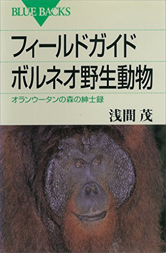 フィールドガイド ボルネオ野生動物 オランウータンの森の紳士録 (ブルーバックス)
