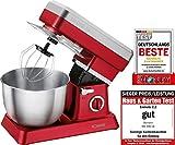 Bomann KM 398 CB Robot da cucina, colore: rosso