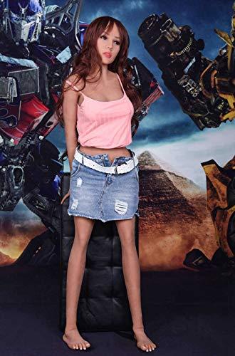 Amazing Deal 158cm/5.18ft Realistic Standing Torso Ṗôckét Pušsÿ Sé'x Love Dõles TPE Silicone...