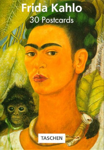 PostcardBook, Bd.1, Frida Kahlo