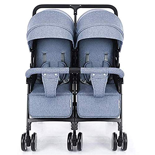 Best Review Of Byrhgood Twin Baby Stroller Car Light Can Sit Reclining Folding Shock Absorber Double...