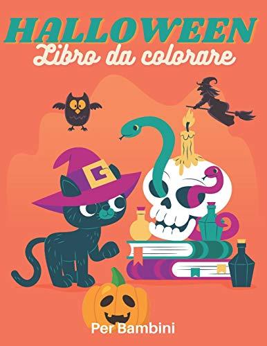 HALLOWEEN Libro da colorare Per Bambini: Libro da colorare per bambini dai 4 anni | Libro di attività per bambini