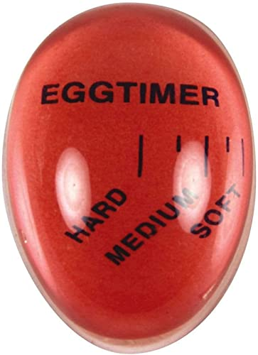 Avanti 16054 Colour Changing Egg Timer, Red