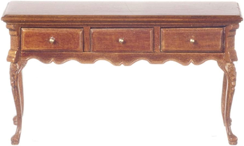 Melody Jane Dollhouse Walnut Hayes Sideboard Buffet Platinum Dining Room Furniture