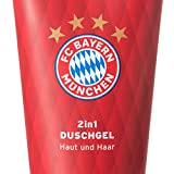 FC Bayern München Luxus Duschgel / 2in1 Hair & Body Shampoo / Showergel - FCB plus gratis Aufkleber...