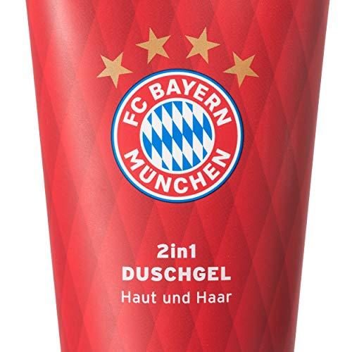 FC Bayern München Luxus Duschgel / 2in1 Hair & Body Shampoo / Showergel - FCB plus gratis Aufkleber forever München