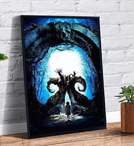 Quadro decorativo Poster O Labirinto do Fauno Capa Filme