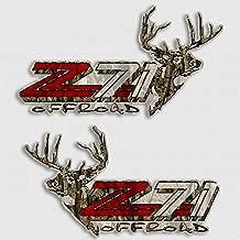 Z71 Camo Deer Hunting Decals