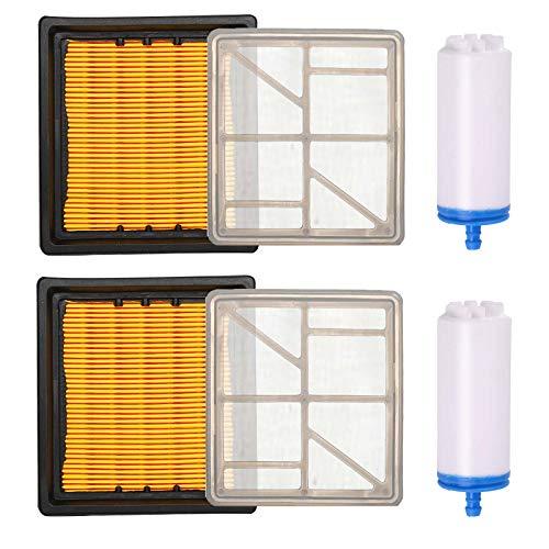 Carkio Kit de filtro de aire combinado con filtro de combustible compatible con Husq-varna sierra de corte de hormigón K760 K 760 5254706-01 5743623-01 525470601 574362301 506264101