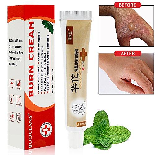 Burn Gel, Burn Cream, Burn Care, Maximum Strength Emergency Room Burn Gel, First Aid Burn Relief, 0.88 Fluid Ounce/1pcs