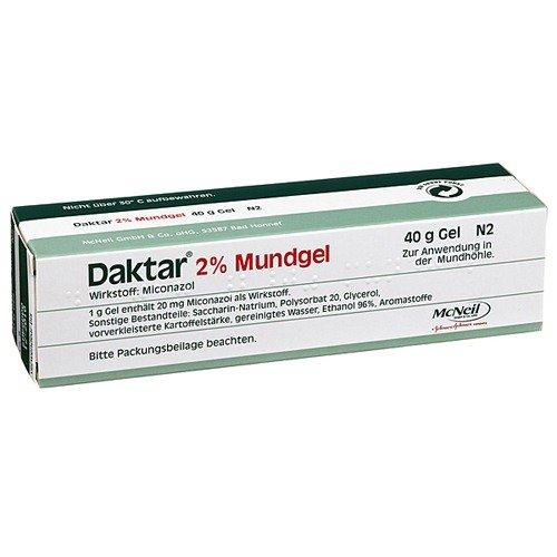 Daktar 2% Mundgel 40 g
