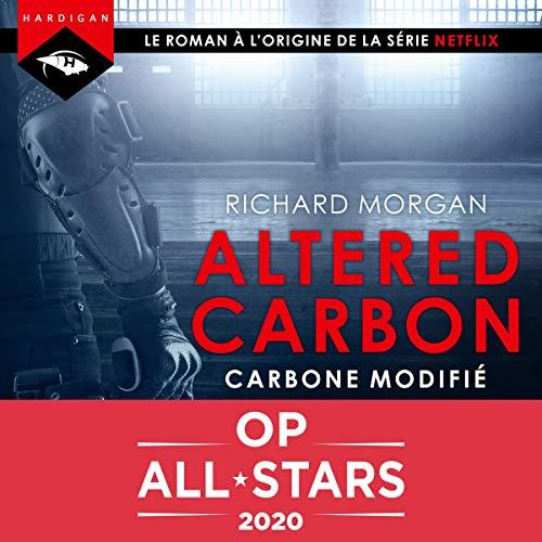 Carbone modifié audiobook cover art