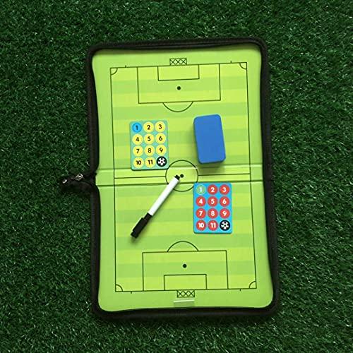 FTYYSWL Tactic Board Coaching Board Coaching Coach Board Magnetico Calcio Coaching Board Tattiche Strategia Pieghevole