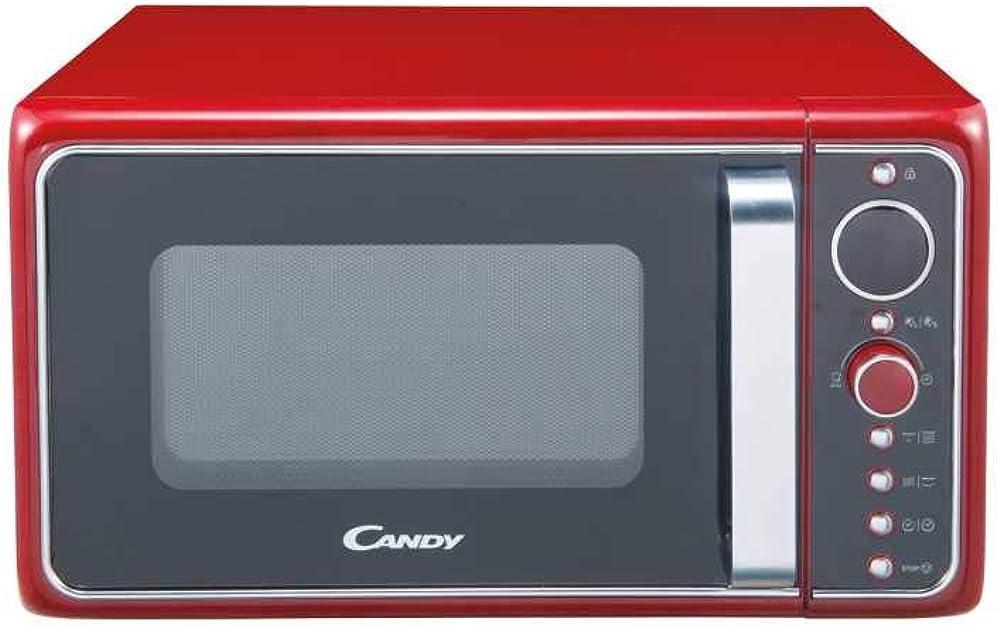 Candy,forno a microonde con funzione grill, 900w, 25 litri,6 programmi di cottura automatici 38000909