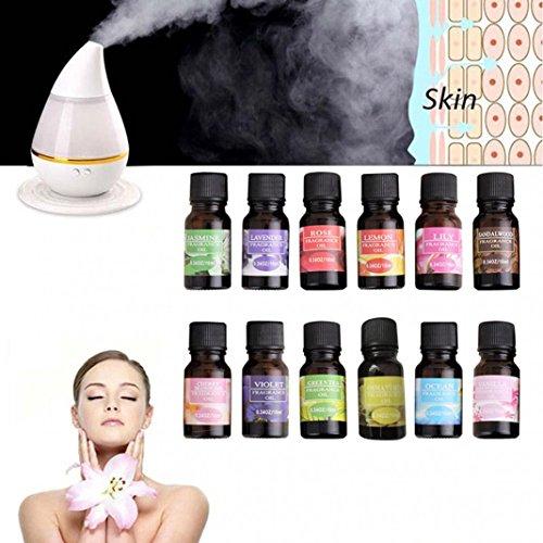 Olio essenziale da piante aromatiche, 10, ml naturale, idrosolubile, puro, per aromaterapia