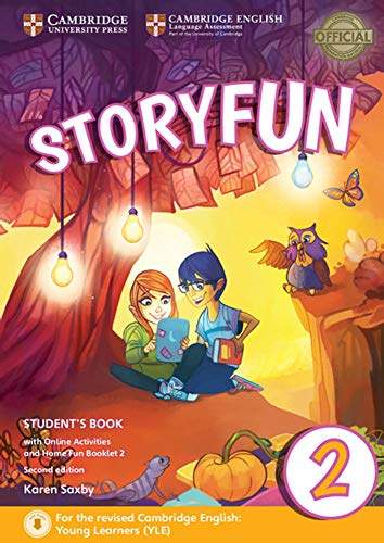 Storyfun for Starters, Movers and Flyers 2 2nd Edition: Student's Book with online activities and Home Fun Booklet