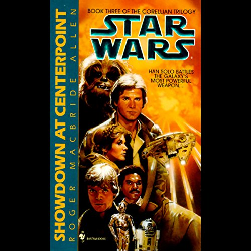 Star Wars: The Corellian Trilogy: Showdown at Centerpoint     Book 3              Autor:                                                                                                                                 Roger Macbride Allen                               Sprecher:                                                                                                                                 Anthony Heald                      Spieldauer: 2 Std. und 59 Min.     5 Bewertungen     Gesamt 4,4