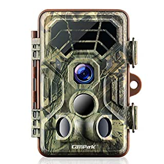Campark Trail Game Cameras HD Waterproof Wildlife Deer Hunting Cams 120° Detecting Range Motion Activated Night Vision Infrared for Outdoor Field Nature Wild Scouting Home Security (B07HBTL962) | Amazon price tracker / tracking, Amazon price history charts, Amazon price watches, Amazon price drop alerts