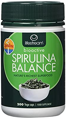 Lifestream Spirulina Capsule 400mg Pack of 200