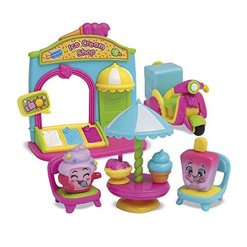 MOJIPOPS - I like Ice Cream con 2 exclusivas figuras MojiPops y variedad de accesorios , color/modelo surtido