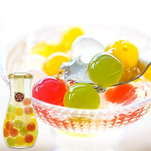 ふみこ農園 プチギフト 退職 お礼 子供 お返し 果汁たっぷり!フルーツゼリーボールコンポート (ミックス)<10575>