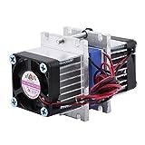 Réfrigération TEC1-12706 à peltier thermoélectrique à double puce bricolage 144W avec système de refroidissement par eau (Single Cooler)
